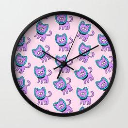 Space kitty Wall Clock
