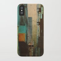shapes iPhone & iPod Cases featuring ESCAPE ROUTE by Liz Brizzi