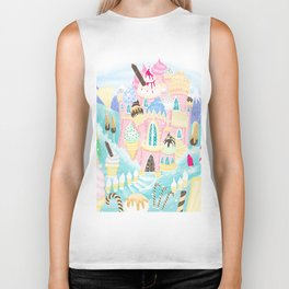 Ice cream Castle Biker Tank