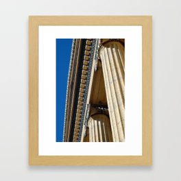 Tall and Handsome Framed Art Print