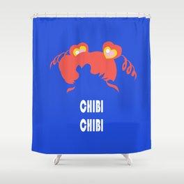 chibi chibi Shower Curtain