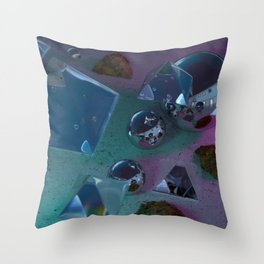 Trapper Keeper No. 2 Throw Pillow