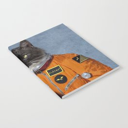 Cats astranout Notebook