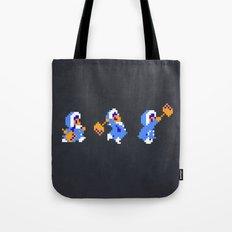 Ice Climber Tote Bag