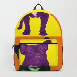 Four French Bulldogs by Crow Creek Cool Backpack