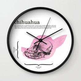 The Chihuahua Wall Clock
