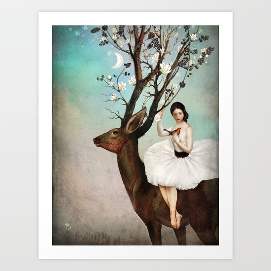 The Wandering Forest  Art Print