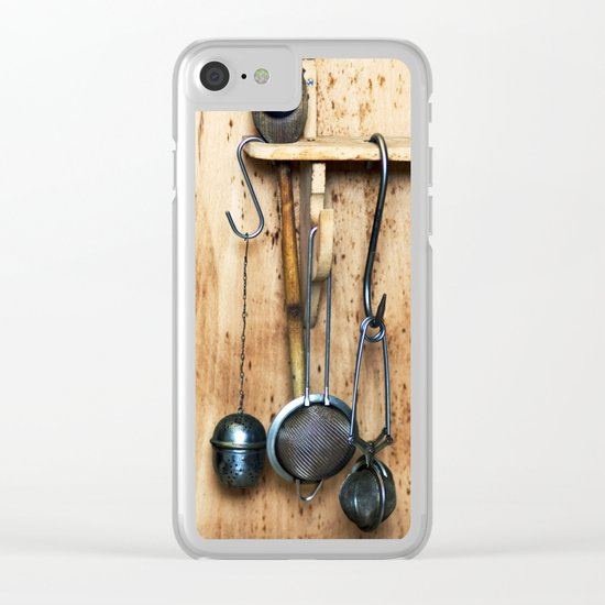 KITCHEN EQUIPMENT Clear iPhone Case
