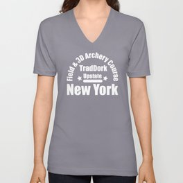 Trad Dork Upstate New York - Field & 3D Archery Course Unisex V-Neck