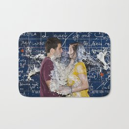 Lovers Milking - Le Grand Spectacle du Lait // The Grand Spectacle of the Milking Bath Mat