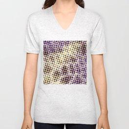 visual illusion No. 1 Unisex V-Neck