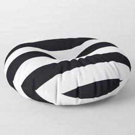 black and white Floor Pillow