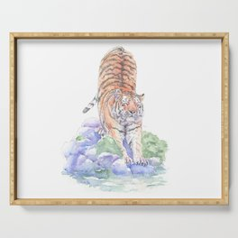 Tiger Oasis Serving Tray