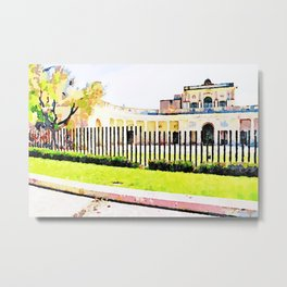 L'Aquila: town hall building Metal Print