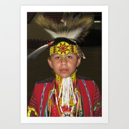 Red Earth Festival, Native American Son Art Print