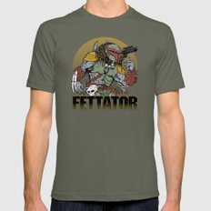 Fettator X-LARGE Mens Fitted Tee Lieutenant