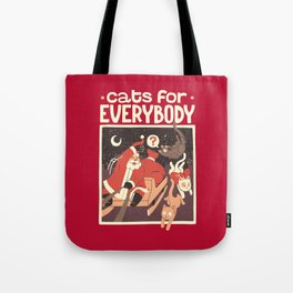 Cats for Everybody Tote Bag