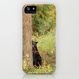 Peak a Bear iPhone Case