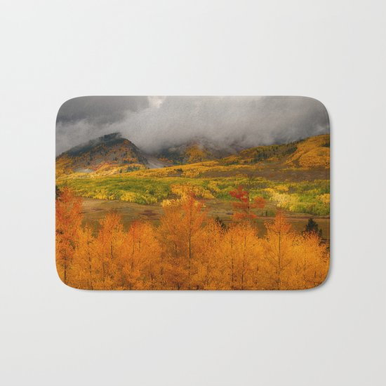 Colorado Fall Colors Bath Mat
