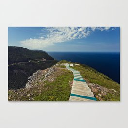 skyline walkway Canvas Print