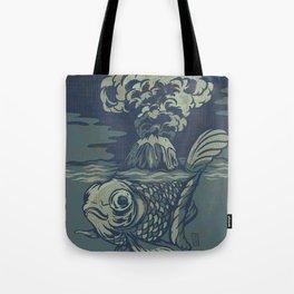 Seismic Waves Tote Bag