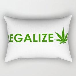 legalize cannabis Rectangular Pillow