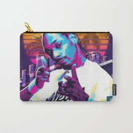 Snoop Dog retro ilustration Carry-All Pouch