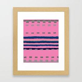 Strong Lines Framed Art Print
