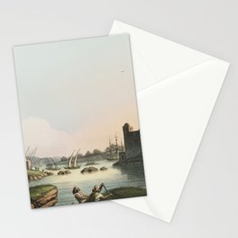 Port of Latachia from Views in the Ottoman Dominions, in Europe, in Asia, and some of the Mediterran Stationery Cards