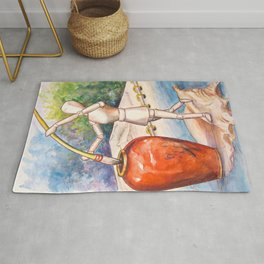 A Touch of Ink Rug