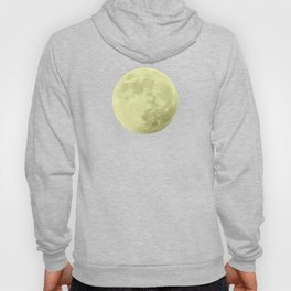 CANARY YELLOW MOON Hoody