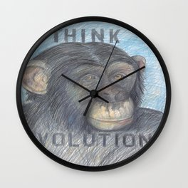 Think Evolution Wall Clock