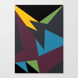 VII Bordeaux Canvas Print