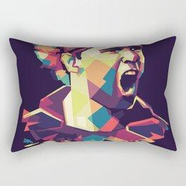 Fernando Torres on WPAP Pop Art Portrait Rectangular Pillow