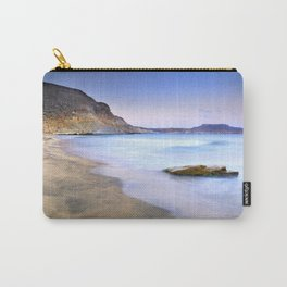 Plomo beach at sunset Carry-All Pouch