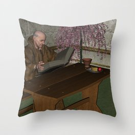 St Francis Throw Pillow