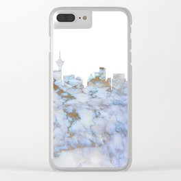 Vancouver Canada Skyline Clear iPhone Case