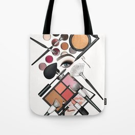 Makeup Looks – The Classic Glam Tote Bag