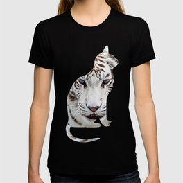 BIG AND SMALL CAT T-shirt