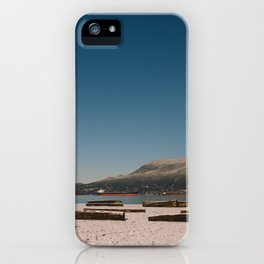 Vancouver snow iPhone Case