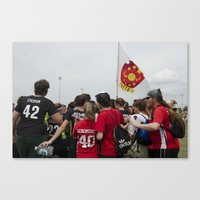 quidditch Canvas Prints featuring Southern Quidditch by Mollie Evans