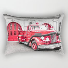 Fire Engine House No. 1 Rectangular Pillow