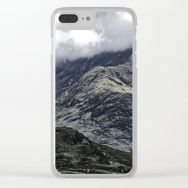 Glencoe in Scottish Highlands. Clear iPhone Case