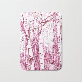 trees I Bath Mat