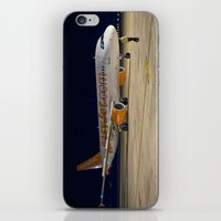 airplane iPhone & iPod Skins featuring Airplane by cjsphotos