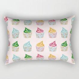 Cute as a multicoloured cupcakes! Rectangular Pillow