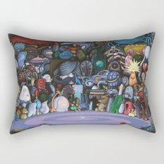 The God Particle Rectangular Pillow