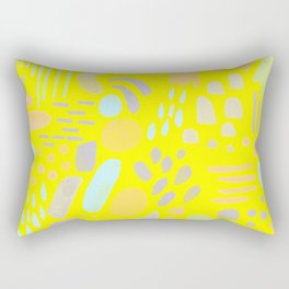 Dancing shapes Rectangular Pillow