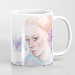 Waterolor portrait of a girl Coffee Mug