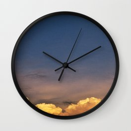 clouds 11 Wall Clock